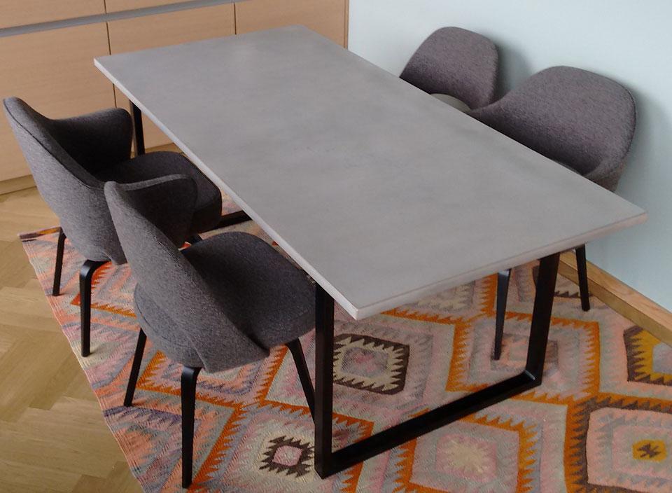 m bel und wohnaccessoires aus beton. Black Bedroom Furniture Sets. Home Design Ideas