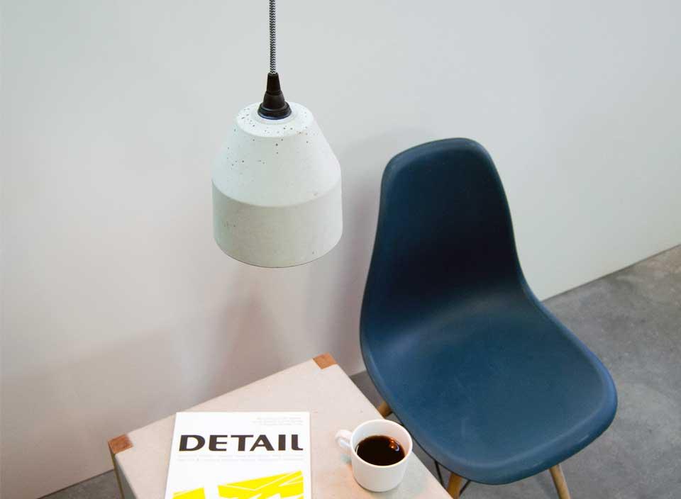 DIY Betonlampe Typ2